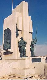 Cartagena: Monumento a los tripulantes de las galeras